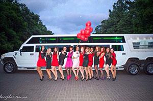 Лимузин на девичник - Аврора-Киев лимузин сервис