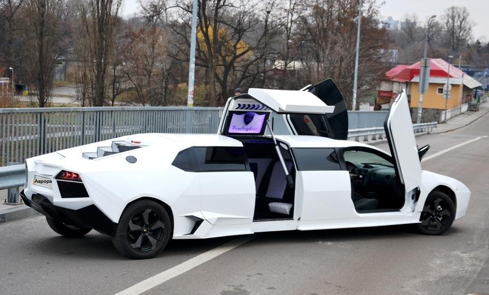 сколько стоит лимузин ламборджини