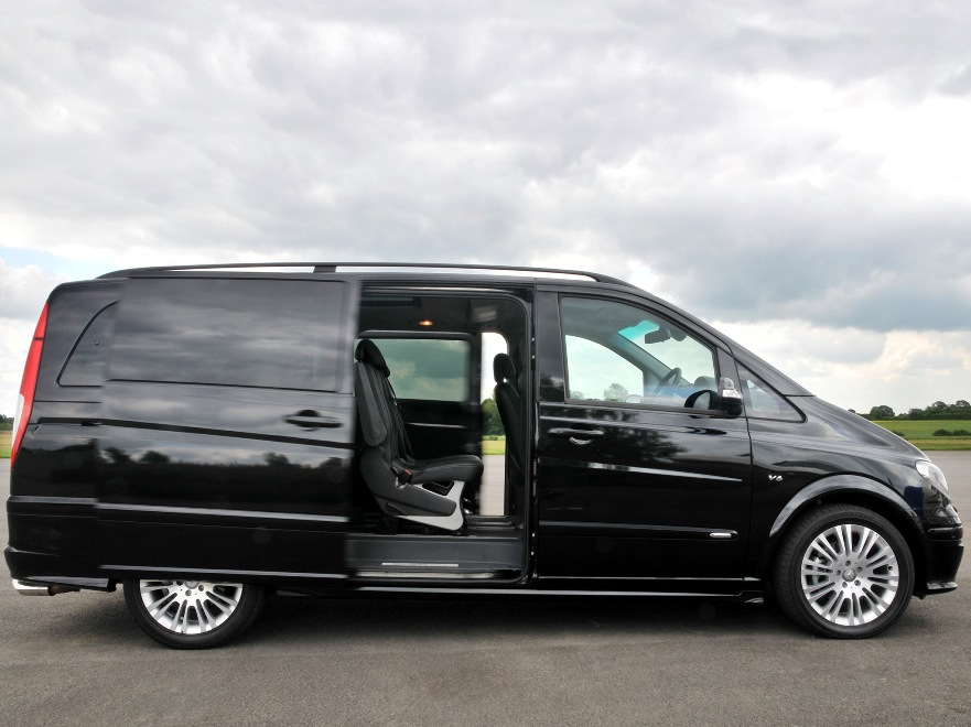 Минивэн Или Автобус Фото 2 Mercedes-Benz Viano