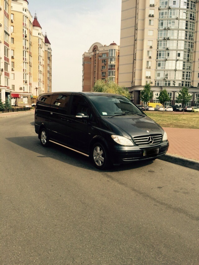Минивэн Или Автобус Фото 4 Mercedes-Benz Viano